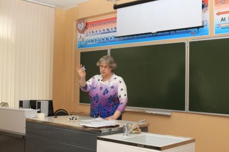 учитель химии: С.В. Шереметьева